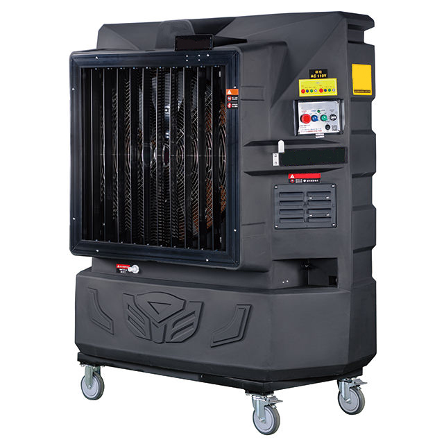Evaporative Water Cooler : M cool electric shutter inverter portable evaporative